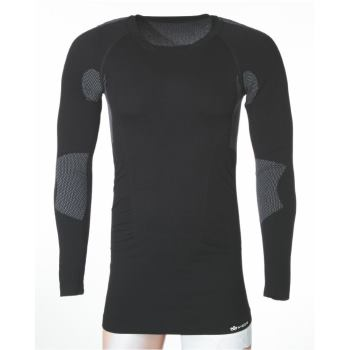 Longshirt Thermal schwarz Gr. s/m