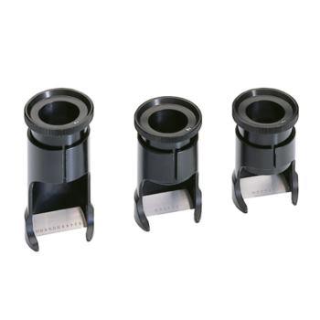 Messlupe Vergrößerung 6-fach MB 20mm/0,1 Teilung