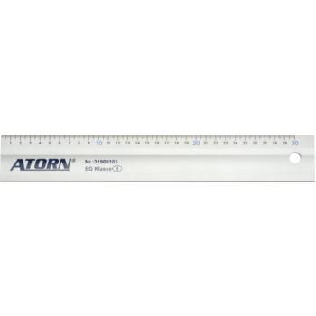 Leichtmetallmaßstab 400 mm mit Tuschekante
