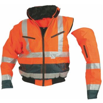 Warnschutz-Blouson EN 471/EN 343 orange Gr. XL