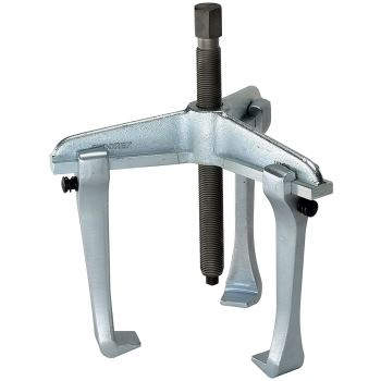 dreiarmiger Abzieher mit Hakenbremse 130 mm Spann