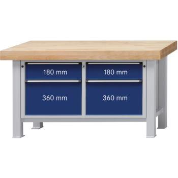 Werkbank Modell 205VS Platte Buche-Massiv 100