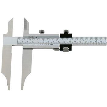 Messschieber Schieblehre INOX 300mm mit Messerspitze mit Feineinstellung