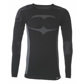 Longshirt Active schwarz/grau Gr. XXL