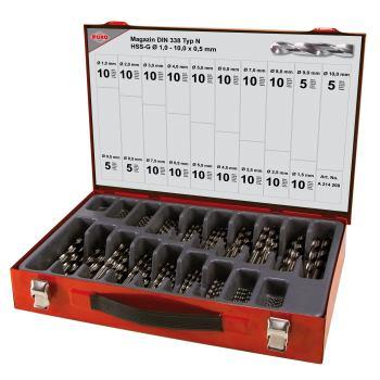Spiralbohrer Magazin DIN 338-N, VA,HSS-G type N 17
