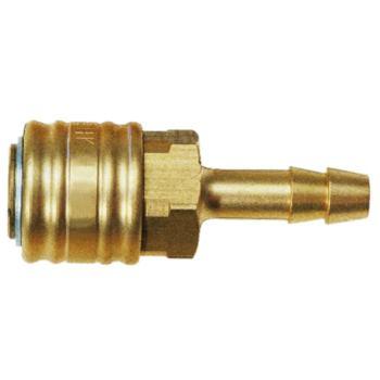 Kupplung Schlauchanschluss 6 mm LW aus Messing