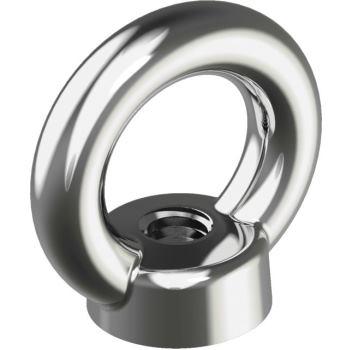 Ringmuttern ähnl.DIN 582 - Edelstahl A4 gegossene Ausführung M 6