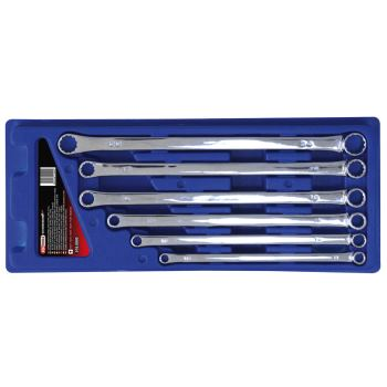 CHROMEplus® Doppel-Ringschlüssel-Satz, XL, 6-tlg.