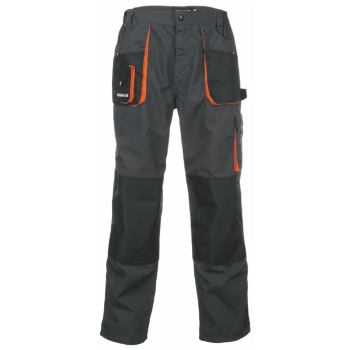 Bundhose dunkelgrau/orange Gr. 102