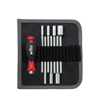 Sechskant-Steckschlüssel 8-teilig 5 - 13 mm Soft-