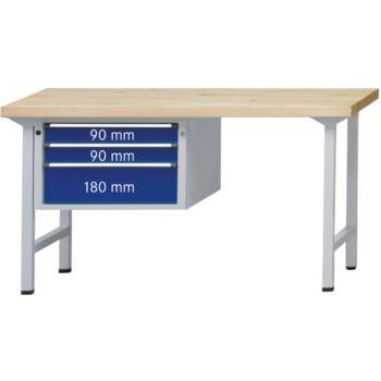 Kombi-Werkbank Mod. 623 V Platte Buche-Massiv