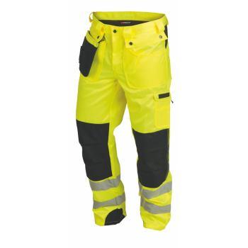 Warnschutzhose Klasse 2 gelb Gr. 52