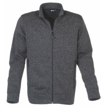 Jacket Knitted Herren anthrazit Gr. M