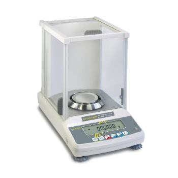 Analysenwaage mit Eichzulassung / 0,1 mg ; 120 g A