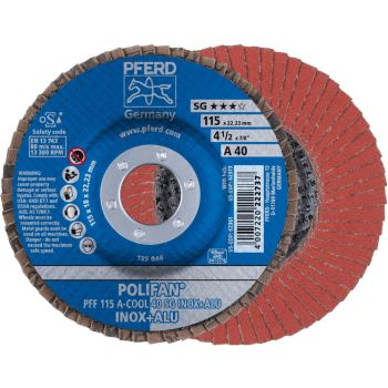POLIFAN®-Fächerscheibe PFF 115 A 40 SG-COOL/22,23