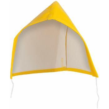 Kapuze für Regenjacke gelb Gr. ONE SIZE