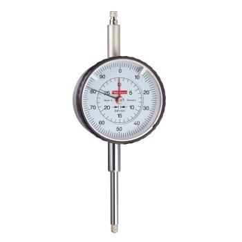 Messuhr 0,01mm / 30mm / 58mm / linkslaufend beziffert / ISO 463 - Werksnorm 10226