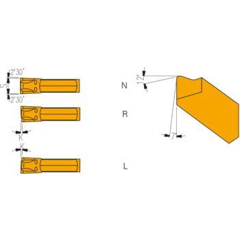 Hartmetall Stecheinsätze KL R-4 LR 127