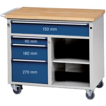 Rollwerkbank HxBxT 970x1140x650 mm 1x große Sch