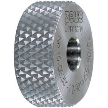 PM-Rändel DIN 403 GE 15 x 6 x 4 mm Teilung 0,8