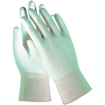 Feinstrick-Handschuh grau Größe 8 - L beschichtet