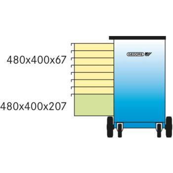 Rollwerkbank Modell 1504 0701 mit 8 Schubfä