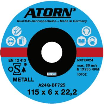 Schruppscheibe für Metall 180x8x22 mm Harte Scheib e