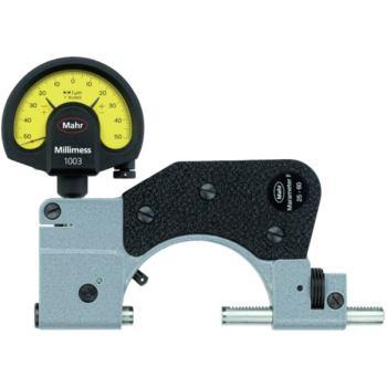 840 F Feinzeiger-Rachenlehre 0-25 mm, im Holzkaste