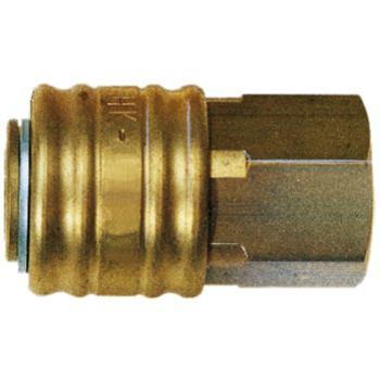 Kupplung Innengewinde G 1/4 Inch aus Messing Inch