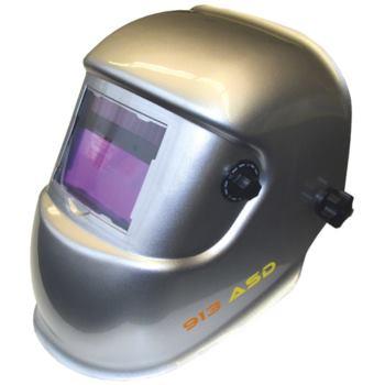 Automatik Schweißerschutzhelm Farbe silber