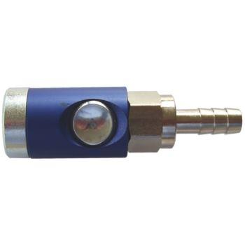 Sicherheitskupplung mit Knopf, Schlauchanschluss L W13