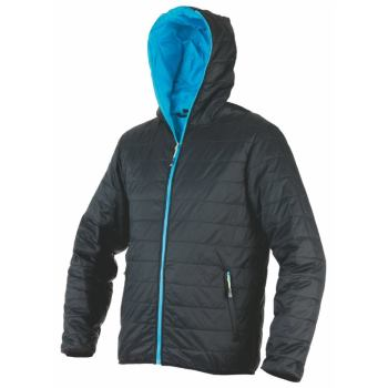 Steppjacke Speed schwarz/blau Gr. S