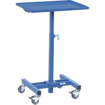 Materialständer im Raster höhenverstellbar Höhe 605-970 mm, Tragfähigkeit 150 kg Ladefläche 605 x 40
