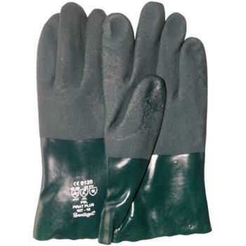 Chemikalien-Schutzhandschuhe aus PVC, Größe 10