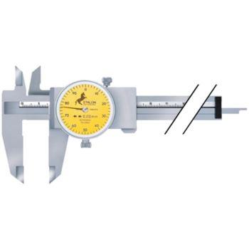 Messschieber 150 mm mit Rundskale 1 mm/Umdrehung