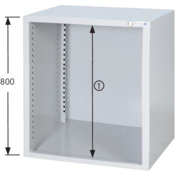 HK Schrankgehäuse System 550 S, Modell S5/24 HxBxT