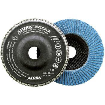Schleiflamellen Zircopur 115x22,2 mm, Korn 60 Zirk on, Träger Naturfaser