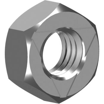 Sechskant-Sicherungsmuttern ähnl. DIN 980 - A2 Vollmetall M 3 Inloc