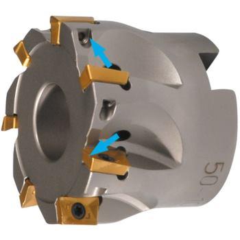 Eckfräser 90 Grad für APKT1003 80mm mit Innenkühlu ng Z=11