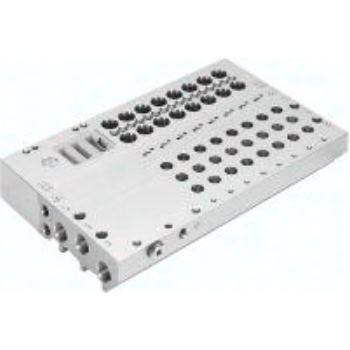 VABM-L1-10G-G18-8-GR 573427 ANSCHLUSSLEISTE