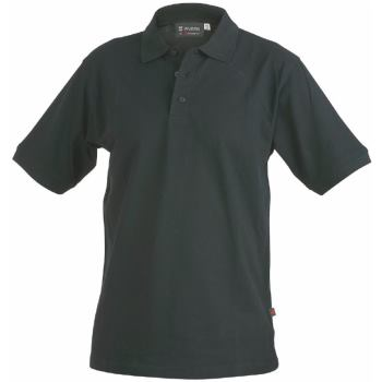Polo-Shirt schwarz Gr. 4XL