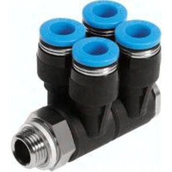 QSLV4-G1/8-6 186244 Mehrfachverteiler