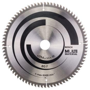 Ø 254 x 30 x 3,2 mm Kreissägeblatt Multi Material
