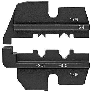Crimpeinsatz für ABS-Stecker