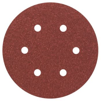 Schleifblatt Expert for Wood, 5er-Pack, 6 Löcher,