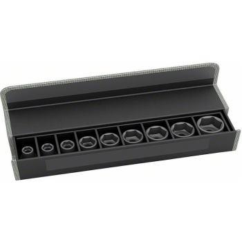 Steckschlüsseleinsätze-Set, 9-teilig, 38 mm, 10 -