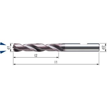 Vollhartmetall-TIALN Bohrer UNI Durchmesser 6,4 I