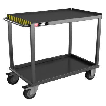 Fahrbarer Tisch für schwere Lasten