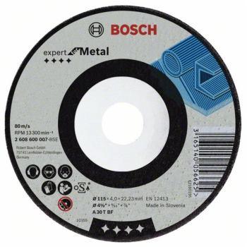 Schruppscheibe gekröpft Expert for Metal A 30 T BF