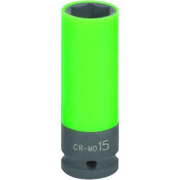 "1/2"" Alu-Felgen Kraft-Stecknuss, lang, 15mm 515.10"
